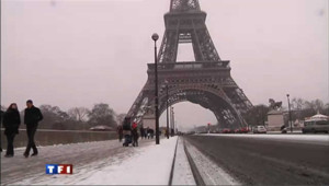 Neige et froid : le tour de France en images