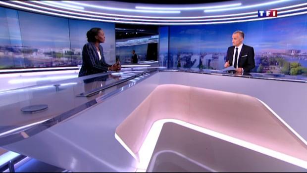 Rama Yade annonce sa candidature à la présidence de la République sur TF1