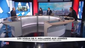 """Hollande aux familles des militaires : un message pour """"les éternelles laissées-pour-compte"""""""