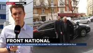 """J-M Le Pen de retour au FN : selon la justice, """"Marine Le Pen s'est pris les pieds dans le tapis"""""""