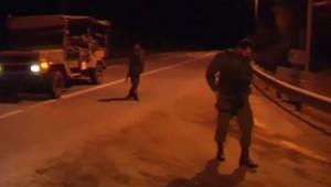 Soldats israéliens, 15/12/13, à la frontière avec le Liban