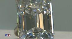 Un diamant de 100 carats vendu 22 millions de dollars... en seulement trois minutes