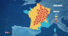 Vague de chaleur sur la France : 40 départements désormais en vigilance orange