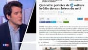 Voiture de police incendiée à Paris : le conducteur bientôt récompensé par Cazeneuve ?