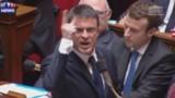 En colère, Valls se paye un député UMP en pleine Assemblée