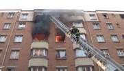 Incendie dans un immeuble à Paris le 23 juillet 2016