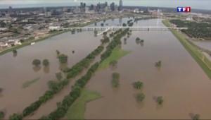 Le 20 heures du 31 mai 2015 : Intempéries aux Etats-Unis : des inondations dévastent le Texas - 964