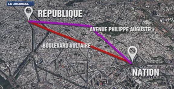 Transports, parcours, sécurité :les conseils à suivre pour la marche ... - TF1