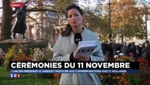 11-Novembre : François Hollande attendu devant la statue de Clemenceau