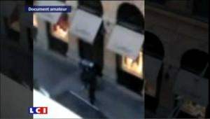 Braquage à Lyon : des images inédites