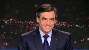 François Fillon au 20h du TF1 du 24 février