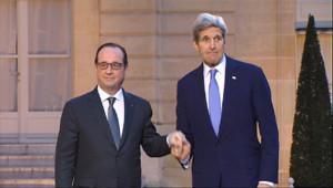 Le 20 heures du 16 janvier 2015 : JOHN KERRY A PARIS - 681.5534700927735