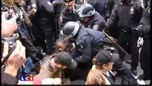 Manifestation tendue des anti-Wall Street à New York