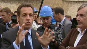 Nicolas Sarkozy Gard retraites emploi