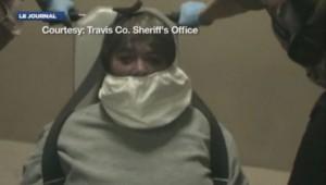 Au Texas, la police a du entraver et bâillonner la procureur, arrêtée en état d'ébriété et ... apparemment très remuante.