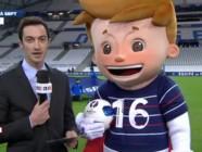Euro 2016 : découvrez la mascotte grandeur nature sur LCI !