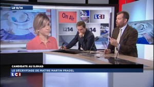"""""""L'absurdité de la situation des jihadistes est totale"""", estime Martin Pradel"""