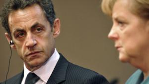 Nicolas Sarkozy Angela Merkel