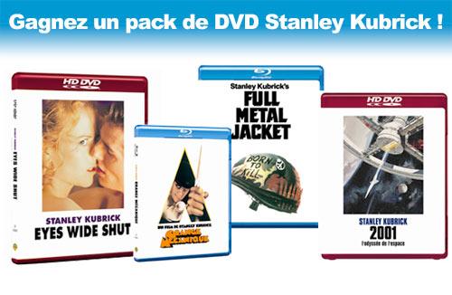 Gagnez un pack de DVD Stanley Kubrick !