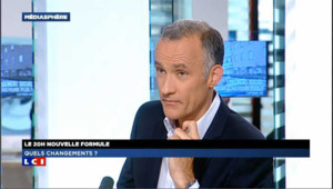 "Gilles Bouleau : ""On fait plus d'audience qu'en septembre 2011"""