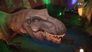"""Le 13 heures du 26 juillet 2014 : Des dinosaures """"grandeur nature"""" �aris - 1218.0179999999998"""