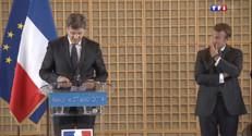 Le 13 heures du 27 août 2014 : Gouvernement Valls II : trois passations de pouvoir - 263.454