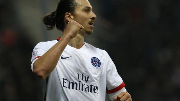 PSG Nice Zlatan Ibrahimovic