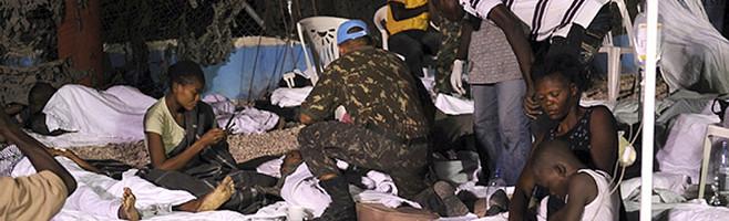 Secours Haïti, Port-au-Prince, le 14/01/2030