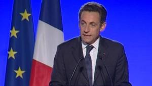 TF1-LCI : Nicolas Sarkozy, à Epinal, le 12 juillet 2007
