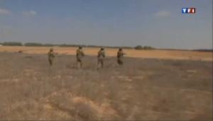 Aux portes de Gaza avec des soldats israéliens