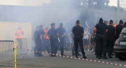 Bastia Marseille hooligan ligue 1