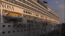 En Italie, le croisiriste Costa a inaugur ce week-end un nouveau paquebot, lors d'une grande crmonie  Venise. Une vaste opration de communication, pour amliorer l'image de la compagnie, prs de quatre mois seulement aprs le naufrage du Costa Concordia au large de la Toscane, qui avait fait 32 morts.