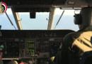 Image extraite d'une vidéo du ministère de la Défense égyptienne, lors des recherches des débris de l'Airbus A320 de l'EgyptAir