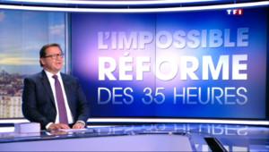 Le 20 heures du 9 septembre 2015 : Code du travail : l'impossible réforme des 35 heures - 896