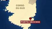 carte Porto-Vecchio Corse du Sud