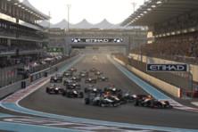 Départ GP F1 Abu Dhabi 2013