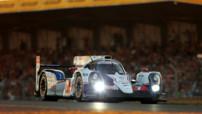 La Toyota TS040 numéro 7 aux qualifications 24 Heures Mans le 12 juin 2014