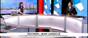 """Pour Jean Lassalle, la classe politique s'est délitée parce que """"le peuple est absent"""""""