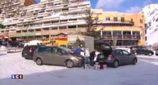 Pyrénées-Atlantiques : les vacanciers quittent la station de Gourette sans avoir pu skier