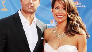 David Charvet et Brooke Burke aux Emmy Awards 2010