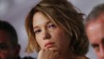 Léa Seydoux lors de la conférence de presse du film La Vie d'Adèle à Cannes le 23 mai 2013
