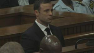 Pistorius lors de la lecture du verdict, le 11 septembre 2014.