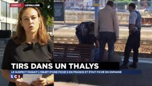 """Thalys : le suspect s'en tient à sa version, il voulait """"braquer les voyageurs"""""""