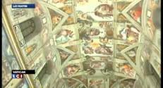 La Chapelle Sixtine s'offre une cure de lumière