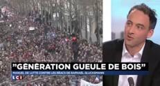 """Raphaël Glucksmann : """"Il faut inventer un mode d'expresison politique, civique"""""""