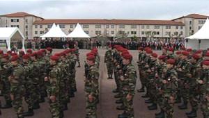 Cérémonie d'hommage aux militaires tués à Montauban.