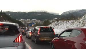 Le 20 heures du 27 décembre 2014 : Sur la route de Saint-Gervais, pendant 10 heures au lieu de 6 - 309.5609999999999