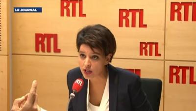 """Vallaud-Belkacem : """"Les enfants ne sont pas forcément adaptés au fonctionnement traditionnel"""""""