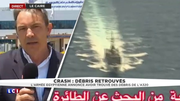 """Vol EgyptAir : """"Il y a urgence à retrouver les boîtes noires car elles n'émettent que pendant un mois"""""""