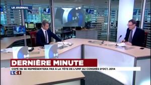 Jean-François Copé ne se représentera pas à la tête de l'UMP